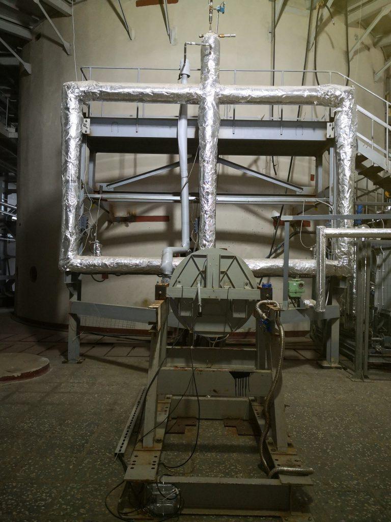 Экспериментальная установка Д-1