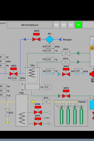 Продукция - Модуль осушки МО-1.01: Видеокадры